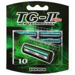 сменные лезвия,Dorco TG-II Plus 10шт