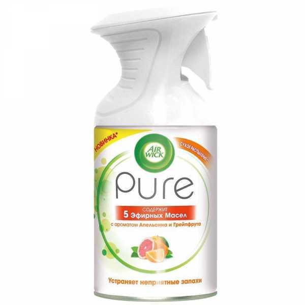 Air Wick Pure 5 эфирных масел Апельсин и грейпфрут