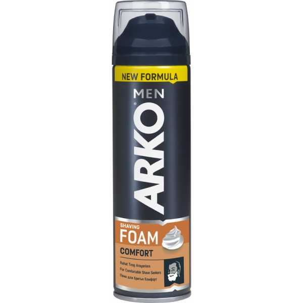 Пена для бритья ARKO Men Foam Comfort, 200 мл