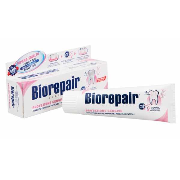 Зубная паста Biorepair (Биорепейр) Gum Protection Gengive Delicate для защиты дёсен, 75 мл