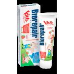 Biorepair (Биорепейр)  Junior strawberry - Детская зубная паста со вкусом земляники 50ml