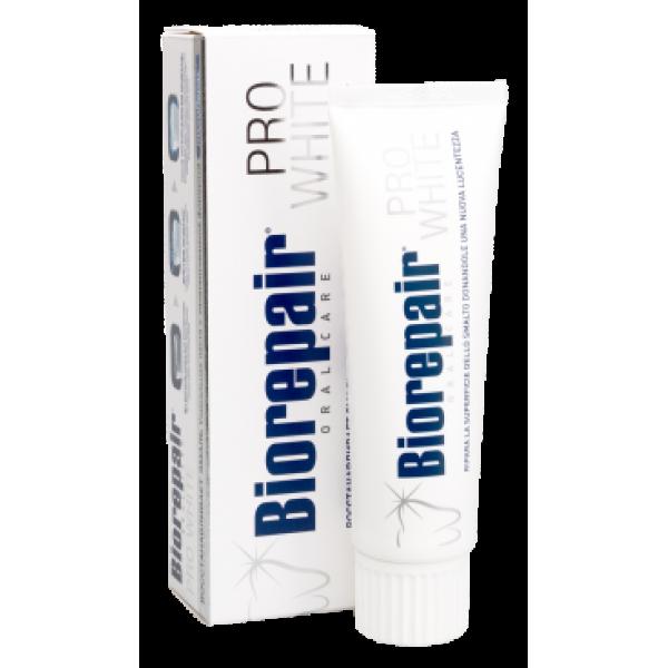 Зубная паста BIOREPAIR (Биорепейр) PRO WHITE Отбеливающая зубная паста 75ml