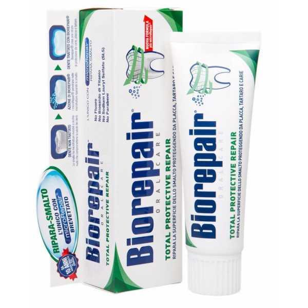 Зубная паста BIOREPAIR (Биорепейр) TOTAL PROTECTION для комплексной защиты  75ml