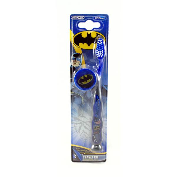Детская зубная щетка Batman Toothbrush with cap от 3 лет