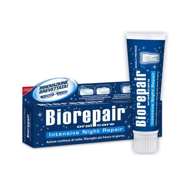 Зубная паста BIOREPAIR (Биорепейр) INTENSIVE NIGHT REPAIR Ночное интенсивное восстановление 75ml