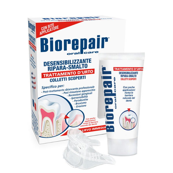 Зубной гель Biorepair Desensitizing Enamel Repairer Treatment