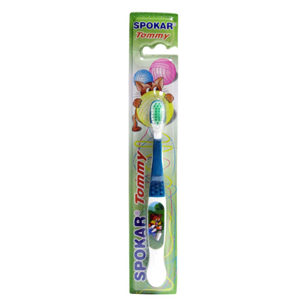 Детская зубная щетка SPOKAR Tommy