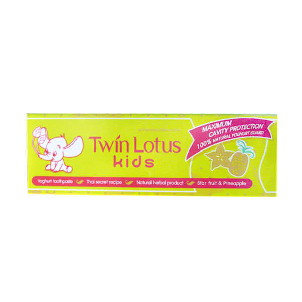 Детская зубная паста Twin Lotus Kids Корамбола и ананас 50г