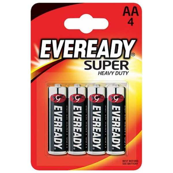 Батарейки Energizer Eveready Super  AA 4 шт.