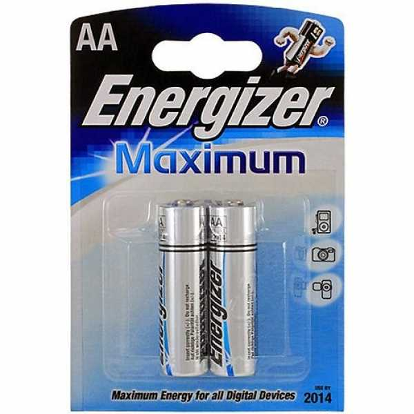 Energizer Алкалин Maximum AA (2шт)