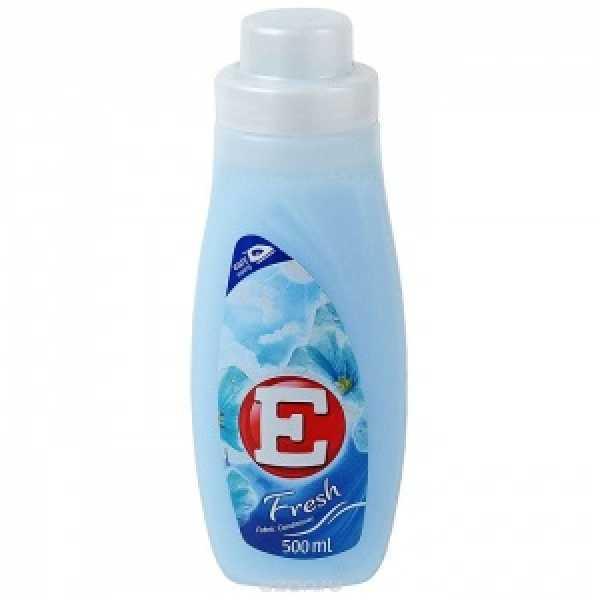 Е- 500мл  Кондиционер для ткани  ФРЕШ (синий)