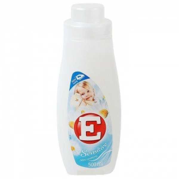 -Е- 500мл  Кондиционер для ткани  СЕНСЕТИВ (белый)