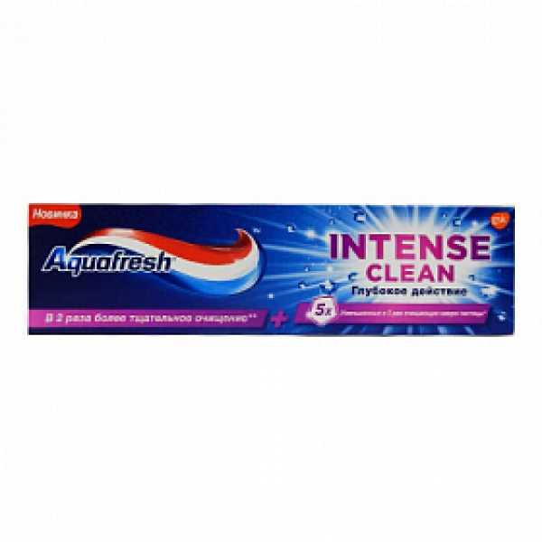 Аквафреш Зубная паста Интенсивное очищение Глубокое Действие 75мл