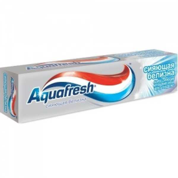 Аквафреш Зубная паста Сияющая Белизна 100мл