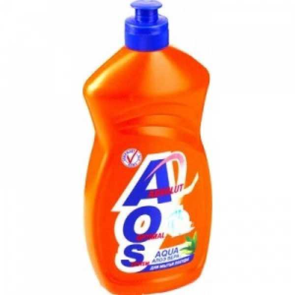 AOS  500мл средство для мытья посуды  АЛОЭ