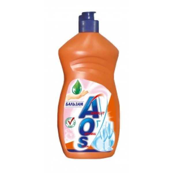 АОS  500мл средство для мытья посуды  БАЛЬЗАМ