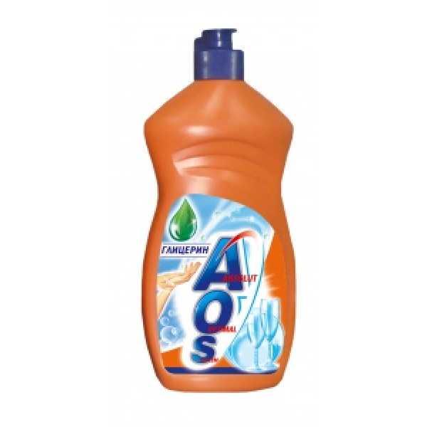 АОS  500мл средство для мытья посуды  ГЛИЦЕРИН