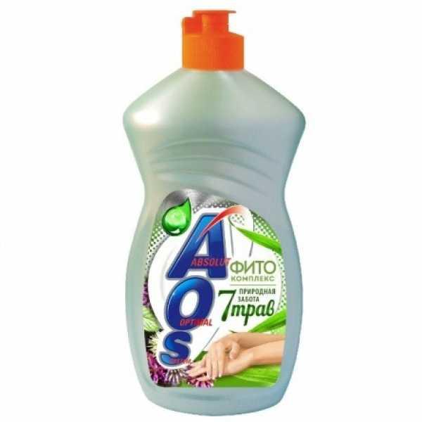 Средство для мытья посуды Aos Фитокомплекс 7 трав, 450 мл