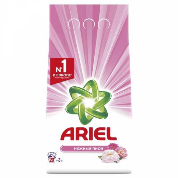 """Стиральный порошок Ariel автомат """"Нежный пион"""", 3 кг"""
