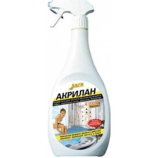 БАГИ Bagi  Акрилан-спрей Для акриловых ванн, душ. кабин и бассейнов 400 мл