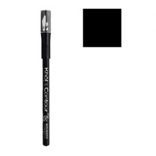 Bourjois  Карандаш для век Khol & Contor с точилкой черный 61