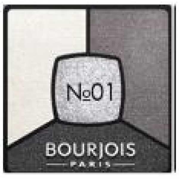Bourjois Палитра теней для век Smoky Stories Тон 01 grey & night 3 мл