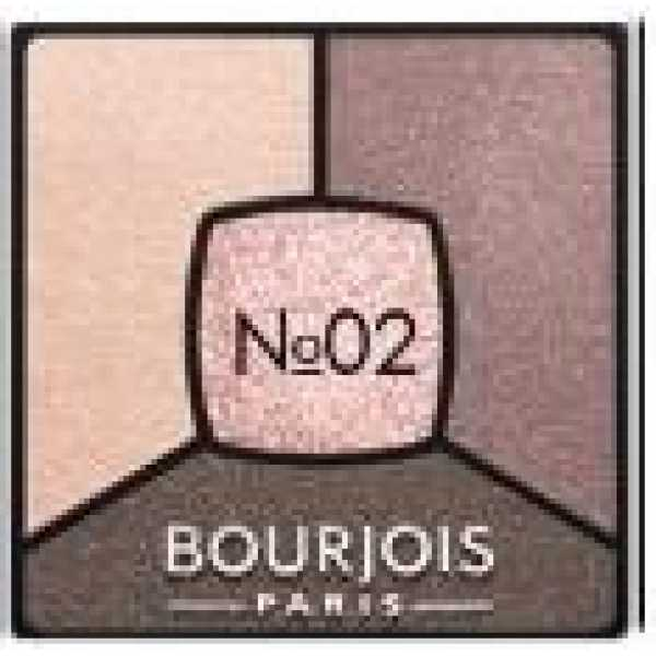 Bourjois Палитра теней для век Smoky Stories Тон  02 Over Rose