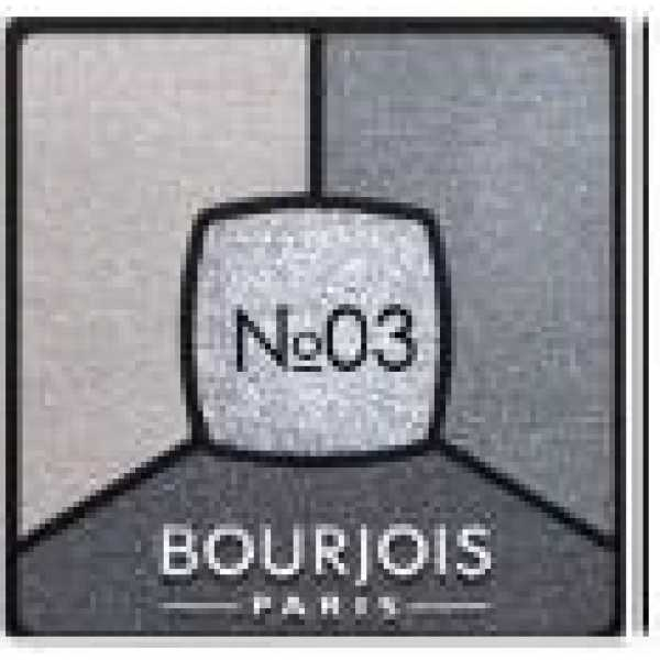 Bourjois Палитра теней для век Smoky Stories Тон  03 i love blue