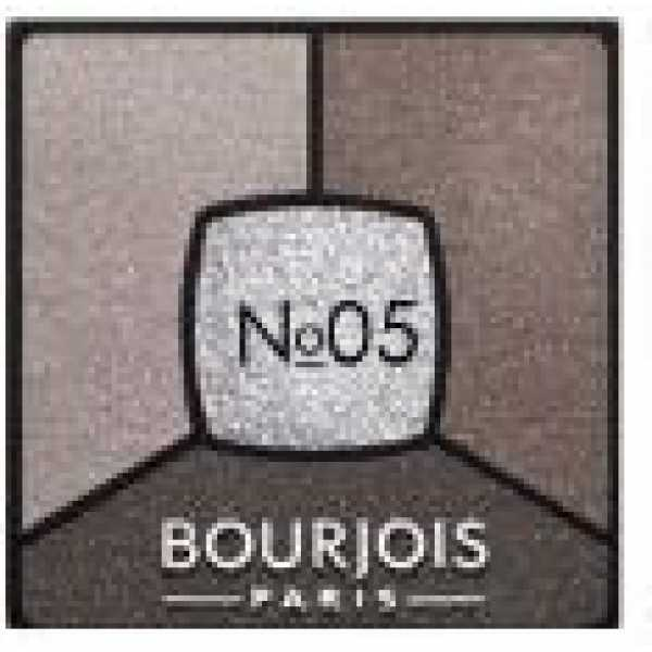 Bourjois Палитра теней для век Smoky Stories Тон  05 good nude