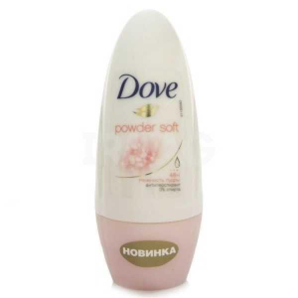 Dove (ДАВ) део- ШАРИК Нежность пудры       50мл.