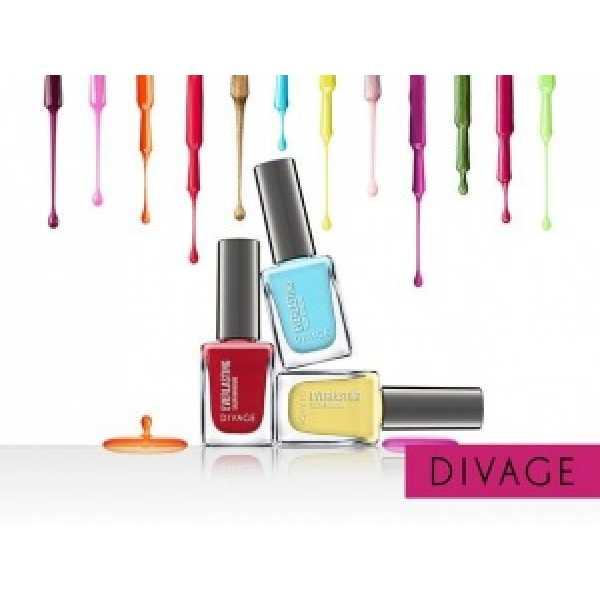 Divage Лак для ногтей Гелевый ``Everlasting`` 12 гламурный розовый