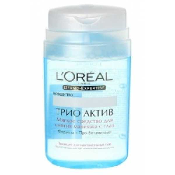 Средство L'oreal Трио Актив для снятия макияжа