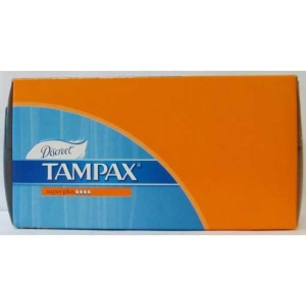 Tampax СEF 16 шт. Супер плюс с юбочкой (оранж.)
