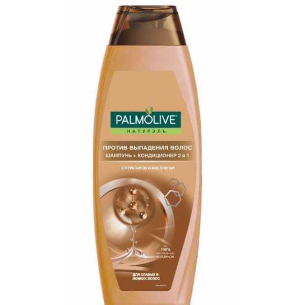 """Шампунь Palmolive 2 в 1 """"Против выпадения волос"""" 380мл"""