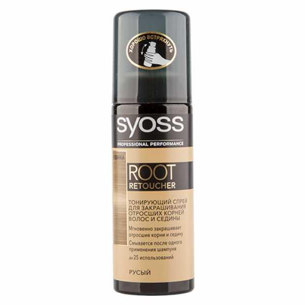 Краска для волос SYOSS 120мл Root Retoucher Русый