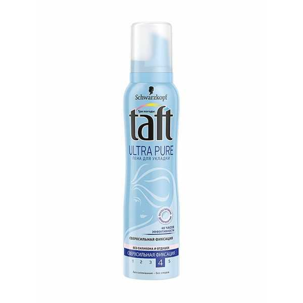 Пена Taft Ultra Pure ССФ 150 мл