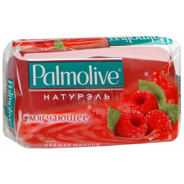 """Мыло туалетное Palmolive Натурэль """"Свежая малина"""" смягчающее, 90 гр"""