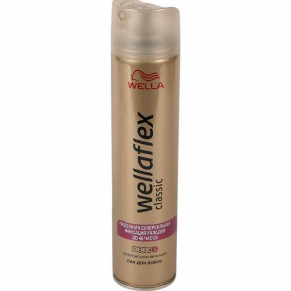 Лак для волос Wellaflex, Суперсильная фиксация, 250 мл