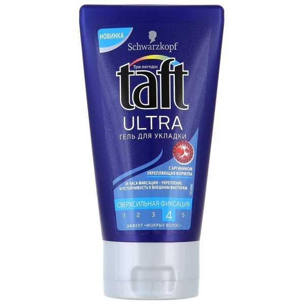 """Гель для укладки Taft Три погоды Ultra """"Эффект мокрых волос"""", 150 мл"""