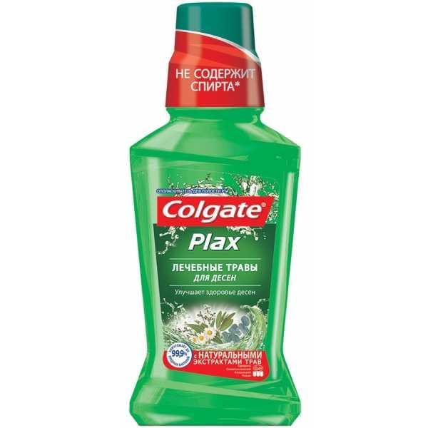 """Ополаскиватель для полости рта Colgate Plax """"Лечебные травы"""", 250 мл"""