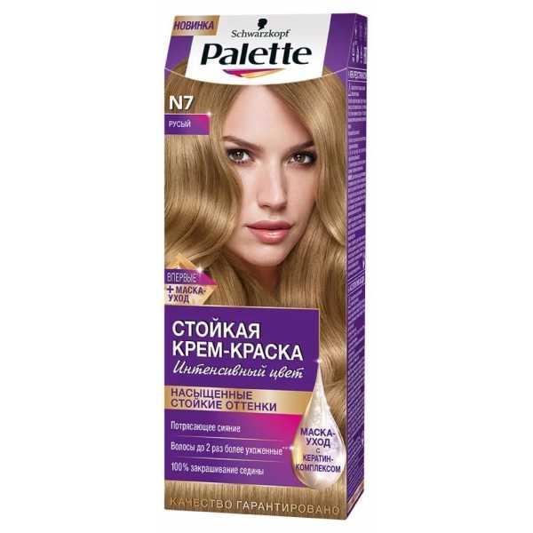 """Краска для волос Palette N7 """"Русый"""", 50 мл"""