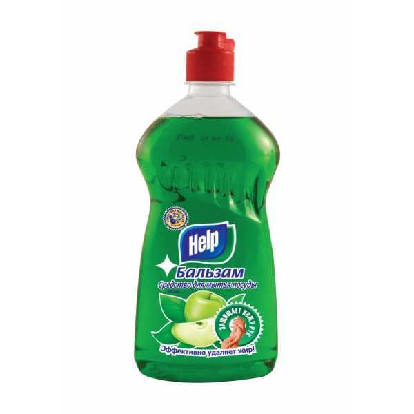 """Бальзам для мытья поcуды Help """"Яблоко"""", 720 мл"""