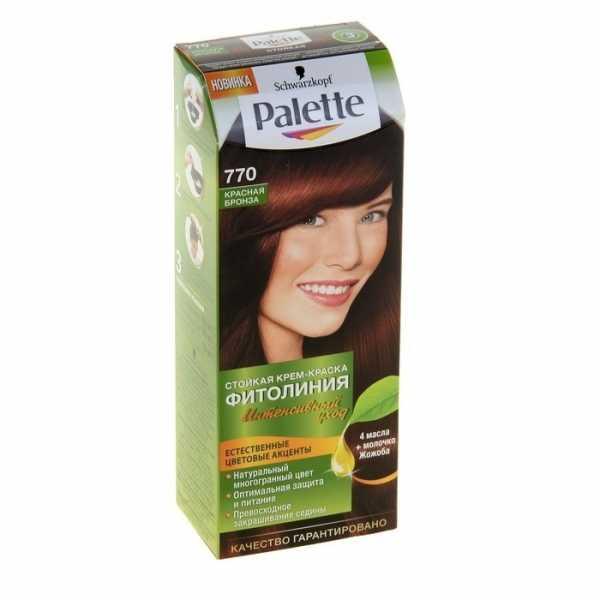 "Краска для волос Palette Фитолиния 770 ""Красная Бронза"", 50 мл"