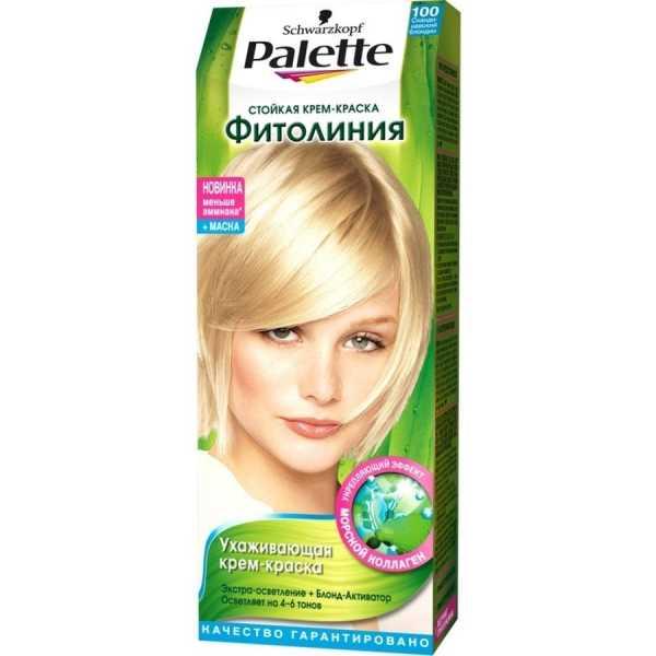 """Краска для волос Palette Фитолиния 100 """"Скандинавский блондин"""", 50 мл"""