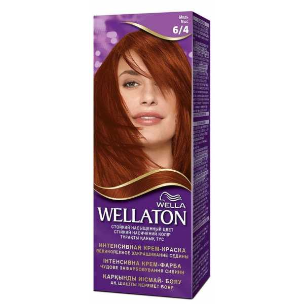 """Краска для волос Wellaton 6/4 """"Медь"""""""