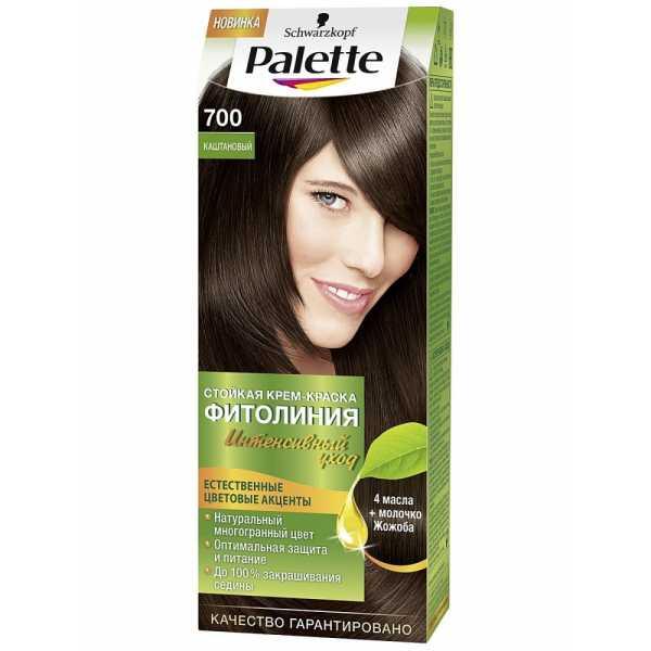 """Краска для волос Palette Фитолиния 700 """"Каштановый"""", 50 мл"""