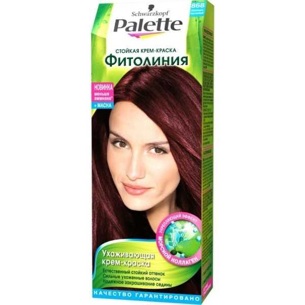 """Краска для волос Palette Фитолиния 868 """"Шоколадно-каштановый"""", 50 мл"""