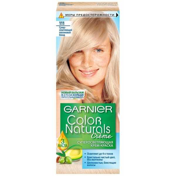 Краска для волос Garnier Color Naturals 111 Супер-осветляющий платиновый блонд