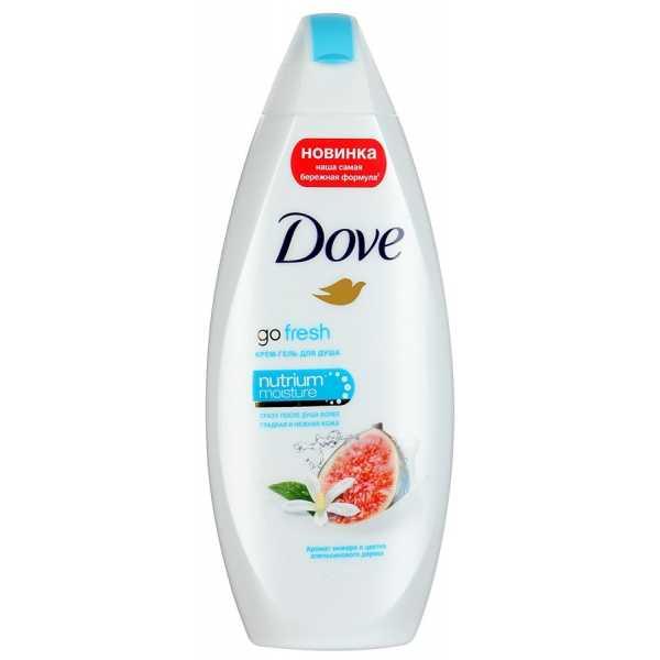 """Крем-гель для душа Dove """"Инжир и лепестки апельсина"""", 250 мл"""
