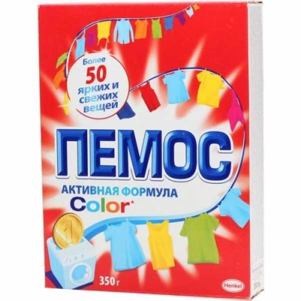"""Стиральный порошок Пемос """"Color"""", 350 гр"""